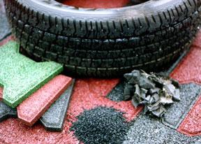 Productos del reciclaje de NFU
